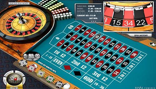 Gaming at Slots Capital Casino